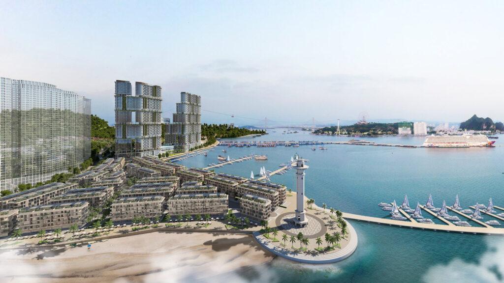 Phối cảnh Sun Grand City Marina Hạ Long