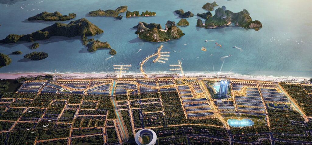 Phối cảnh Dragon City TTP Cẩm Phả