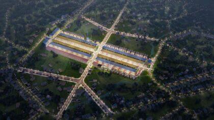 Phối cảnh dự án TNR Stars Yên Bái