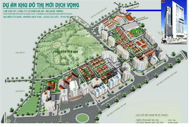 Khu đô thị mới Dịch Vọng Lideco