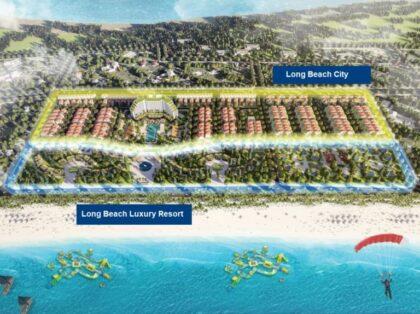 Mặt bằng phân khu Trà Cổ Long Beach Luxury Móng Cái