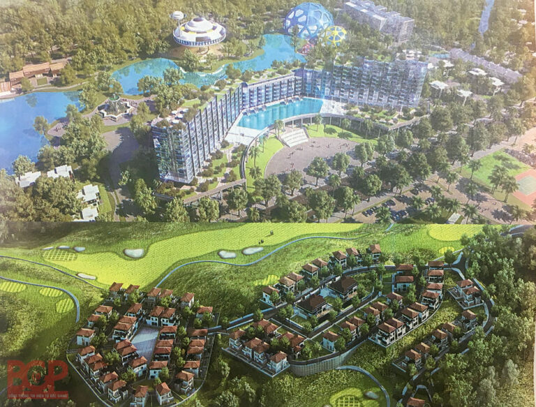 Tổ hợp du lịch nghỉ dưỡng Bắc Giang