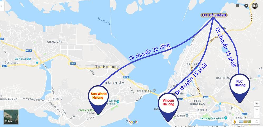 Vị trí FLC tropical Hà Khánh