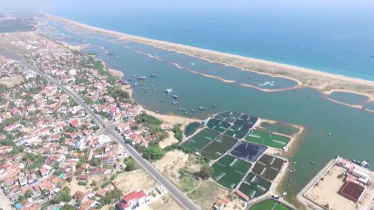 Một góc huyện Tuy An tỉnh Phú Yên