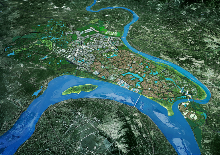 Bản đồ quy hoạch thành phố Việt Trì