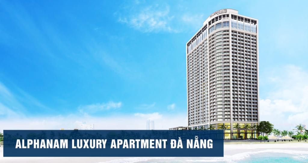 Phối cảnh Luxury Apartment Alphanam Đà Nẵng