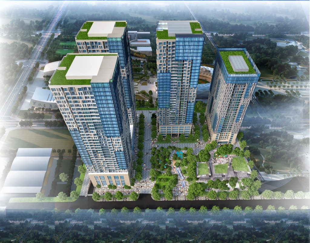 Phối cảnh chung cư 47 Nguyễn Tuân