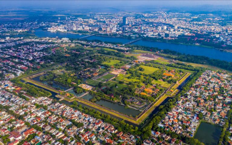 Bản đồ quy hoạch thành phố Huế