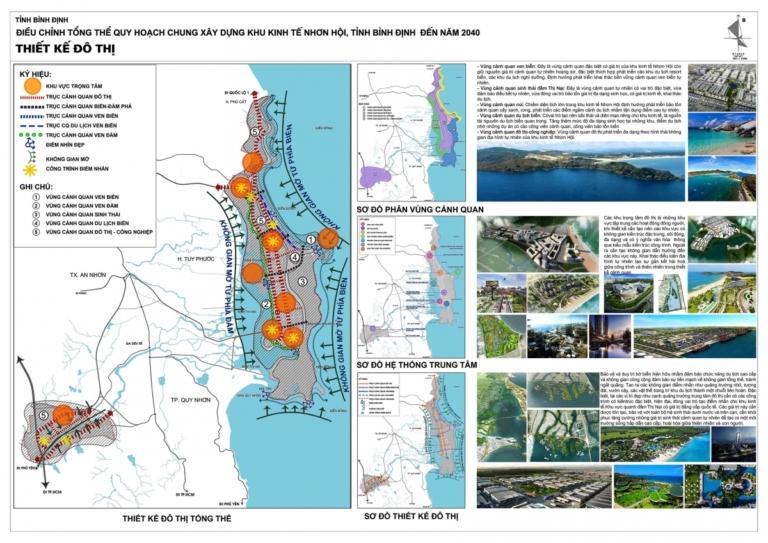 Bản đồ quy hoạch khu kinh tế Nhơn Hội tỉnh Bình Định