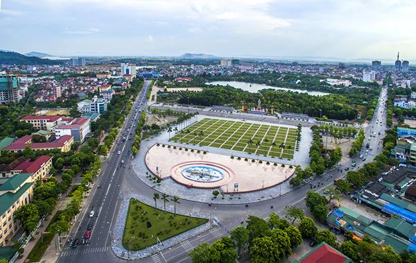 Bản đồ quy hoạch thành phố Vinh Nghệ An