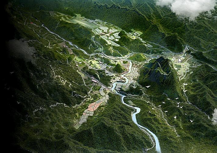 Phối cảnh đô thị tỉnh Hà Giang