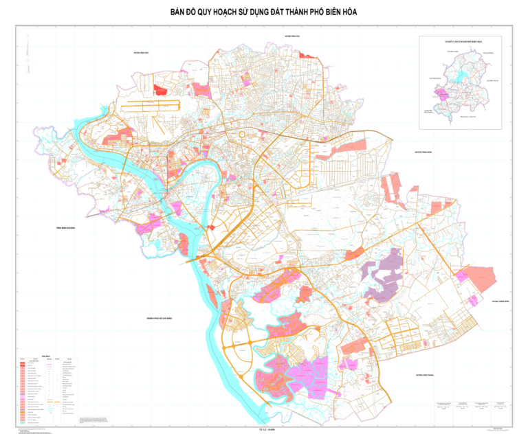 Quy hoạch sử dụng đất thành phố Biên Hòa