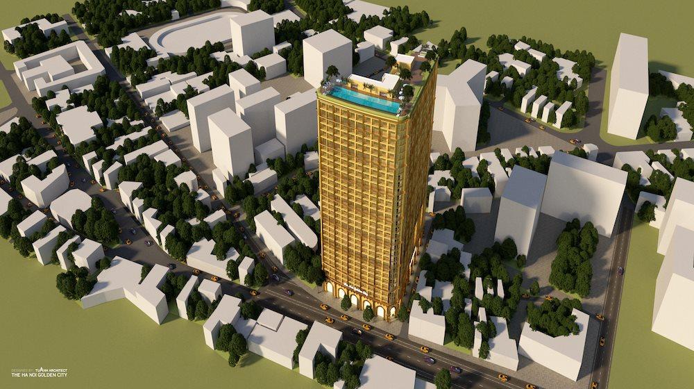 Chung cư Golden City Kim Mã