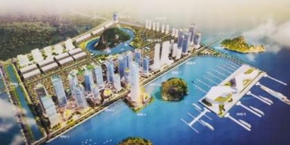 Phối cảnh dự án khu đô thị Ao Tiên Vân Đồn
