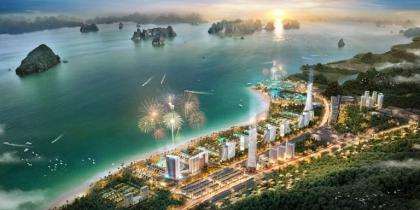 Phối cảnh Sonasea Vân Đồn Harbor City